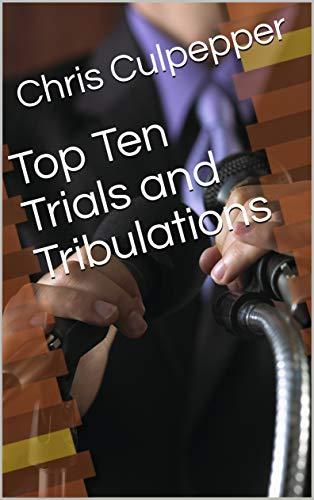 Top Ten Trials and Tribulations cover